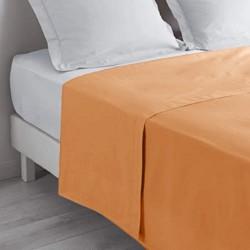 Drap plat corail 240x310