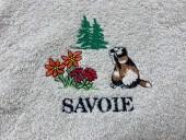 Essuie Mains Rond Marmotte Savoie