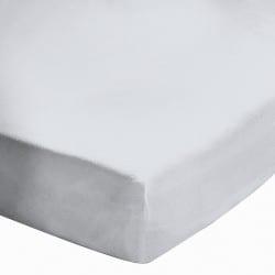 Drap housse 140x190 Blanc BT 27 cm