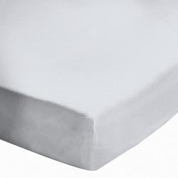 Drap housse 140x200 Blanc BT 27 cm