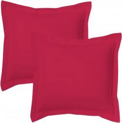 Lot de 2 taies d'oreillers Bourdon carrés ou rectangulaire 100% Coton