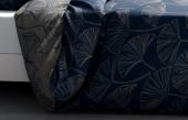 Motifs housse de couette 220x240 cm Ginko Réversible
