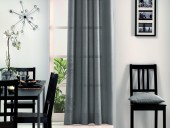 Rideaux style laine gris