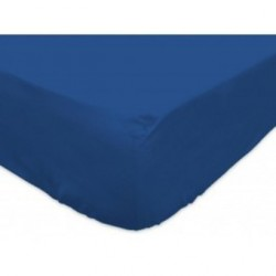 Drap housse des vosges 160x200 bleu  BT 27 cm