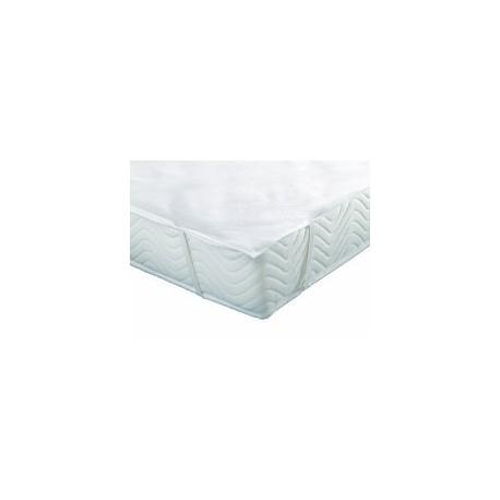 Protège Matelas Molleton Sandwich Imperméable PVC, alèse forme plateau