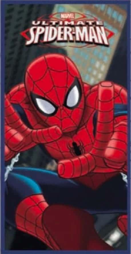 Serviette de plage Spider Man 70 x 140