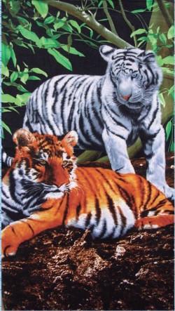 Serviette de plage Tigres 70 x 140