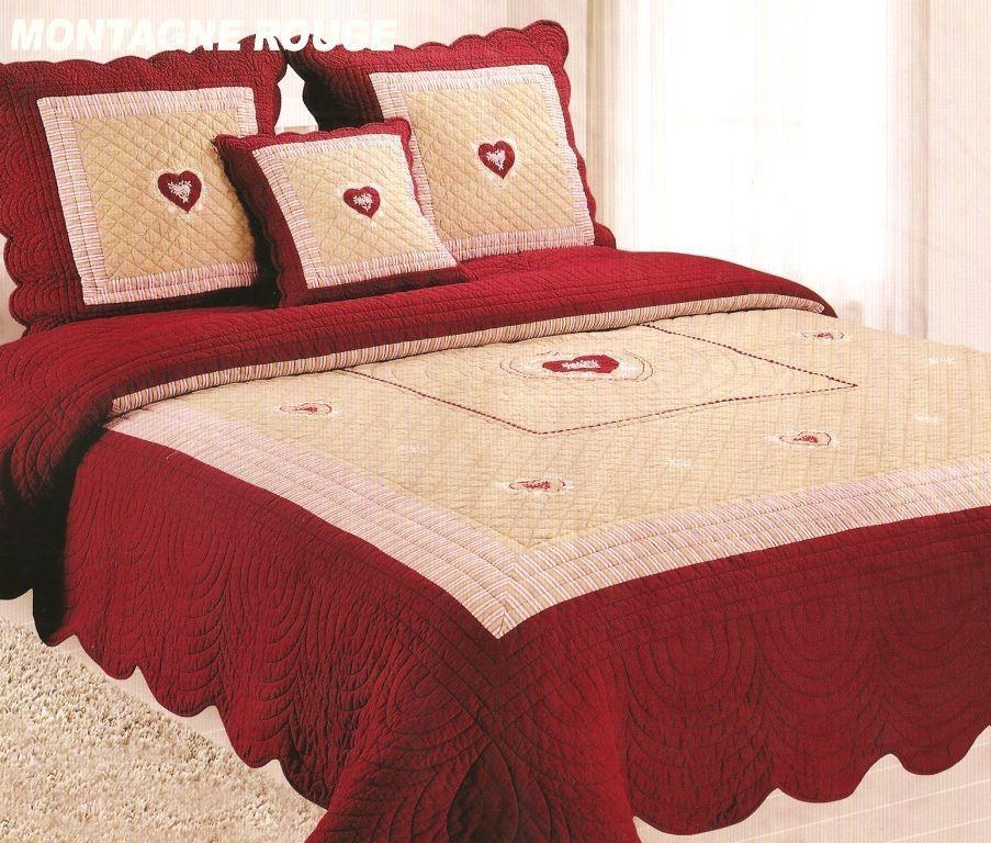 couvre lit grande taille Couvre lit montagne chalet couvre lit grande taille
