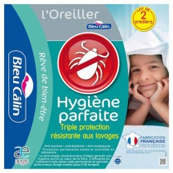 Oreiller Anti Acariens 50x70 (par lot de 2)