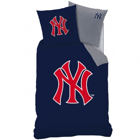 housse de couette 140x200 new york yankees. Black Bedroom Furniture Sets. Home Design Ideas