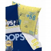 Drap Housse 90x190 Minions Oops