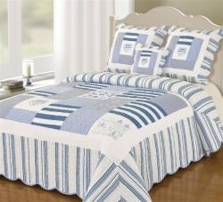 couvre lit boutis bleu marine Boutis Couvre lit Bleu Marine 230x250 couvre lit boutis bleu marine