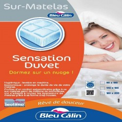 sur matelas confort sur matelas sensation duvet qualit fran aise. Black Bedroom Furniture Sets. Home Design Ideas