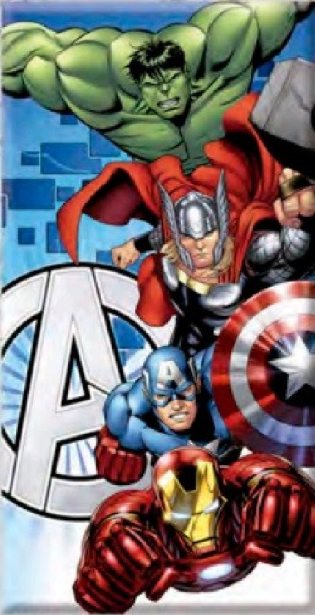 Serviette de plage Avengers 70 x 140