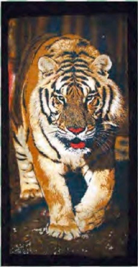 Serviette de plage Tigres 95x175