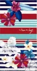 Serviette de plage Sun & Surf Flower 95x175