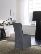 Housse de chaise Anthracite