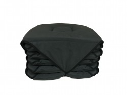 Lot de 6 Galettes de Chaise Anthracite