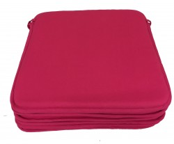 Lot de 6 Dessus de Chaise - Carré de Mousse - Victoria Fuschia