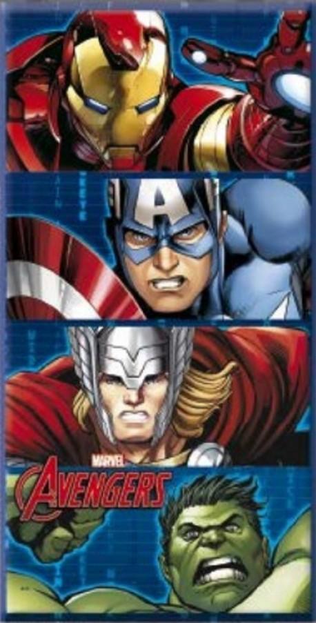 Serviette de plage Avengers Héros 70x140