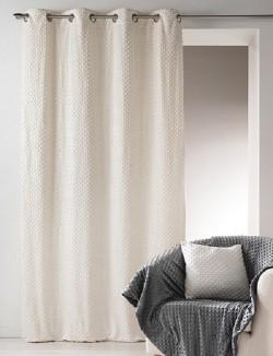 Rideau Polaire Gris - 140 x 260 cm