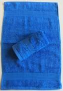 Lot de 2 Serviettes Invités Bleu - 30x50