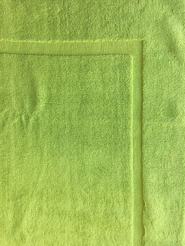Tapis de bain anis 50 x 80 - Carre blanc tapis de bain ...