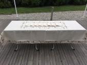 Nappe Brodée Rectangle 48 A - 160x300 cm