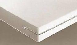 Housse de matelas intégrale 90 x 190 - Blanc