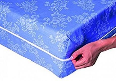 Housse de matelas intégrale 140 x 190 - Bleu