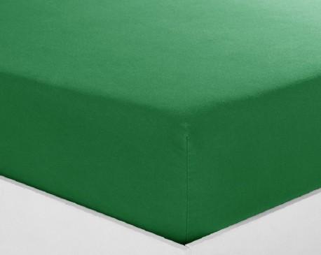 Drap housse 140x190 Olive Bonnet  28 cm