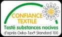 Drap Housse Jersey Tête et Pied Relevable Bonnet 30cm  Coton Extensible Aqua