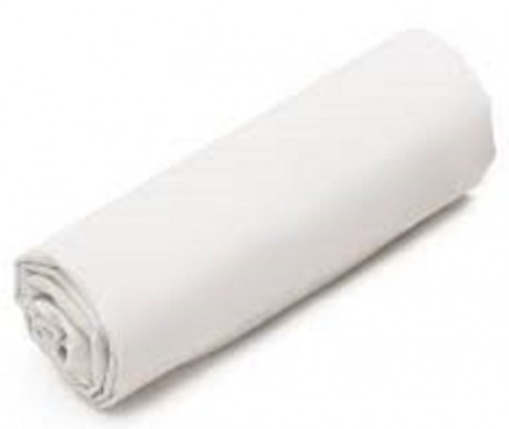 Drap Housse  Jersey 140x190 Maxi Bonnets Coton Extensible Blanc