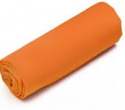 Drap Housse  Jersey 140x190 Bonnet 30cm  Coton Extensible Orange