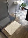 Tapis de bain Bambou 50x80 cm Naturel