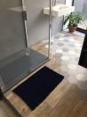 Tapis de bain Bambou 50x80 cm Marine