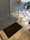 Tapis de bain Bambou 50x80 cm Chocolat