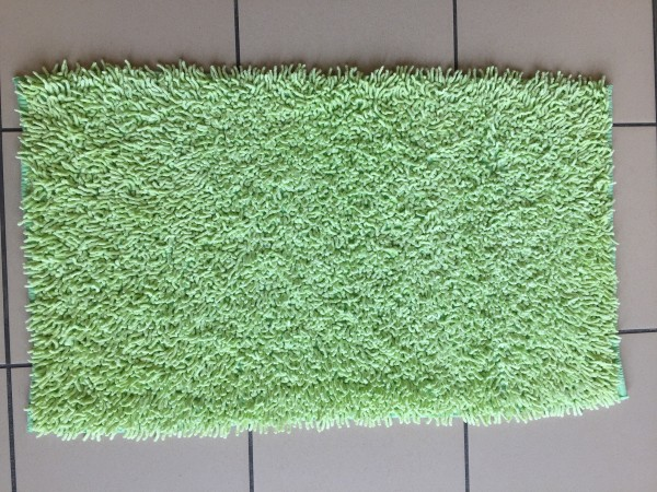 tapis de bain bambou 50x80 cm anis. Black Bedroom Furniture Sets. Home Design Ideas