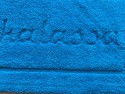 Tapis de bain 100% coton Tahiti 50x80 Ciel