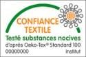 Tapis de bain 100% Coton Ahe 50x50 cm Ciment