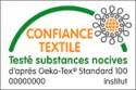 Tapis de bain 100% Coton Ahe 50x50 cm Outremer