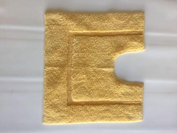 tapis de bain contour wc et lavabo 100 coton manihi 50x45 cm jaune. Black Bedroom Furniture Sets. Home Design Ideas