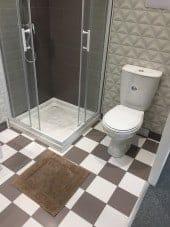 Tapis de bain 100% Coton Ahe 50x50 cm Taupe