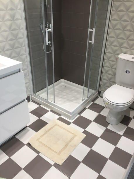Tapis de bain 100% Coton Ahe 50x50 cm Naturel