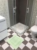 Tapis de bain 100% Coton Ahe 50x50 cm Menthe