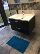 Tapis de bain 100% coton Brehat 50x80 Lagon
