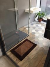 Tapis de bain Bahia Antidérapant 50x80cm Marron