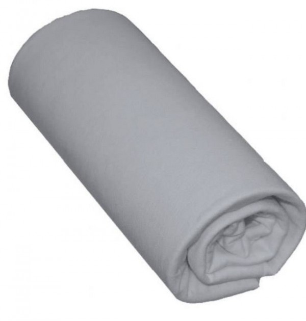 drap housse 90x200 gris souris 100 coton bonnet 30cm. Black Bedroom Furniture Sets. Home Design Ideas