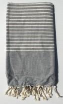 Foutas Stripes 100x200cm 100% Coton Esprit Hammam Tunisien