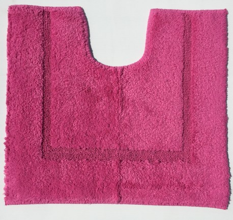 Rose LA BOUTIQUE Tapis LAVABO 45x50 cm WC r/éf: RFW5 latex/é Anti Glisse